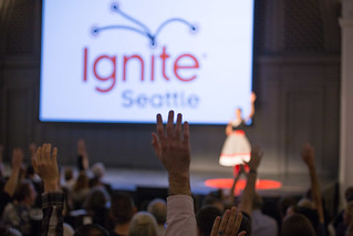 Hands Up - Ignite Seattle 39