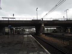 Rainy Morning at Amsterdam Sloterdijk Station -- Amsterdam, The Netherlands, May 12, 2019