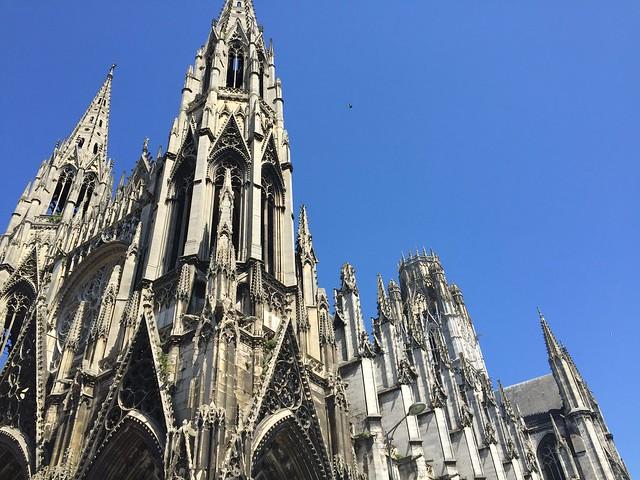 The Église Catholique Saint-Maclou in Rouen, France.