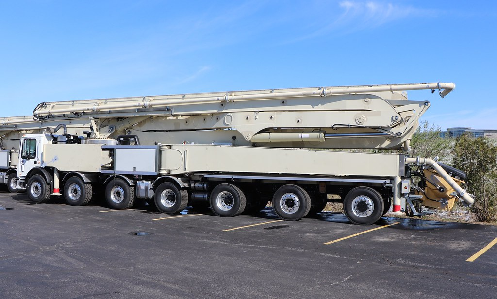 Putzmeister Concrete Pump Truck | This is what a generic con… | Flickr