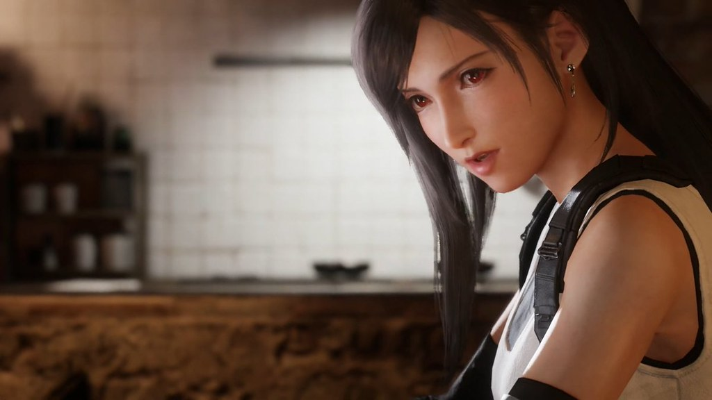 Final Fantasy VII Remake - Tifa profili