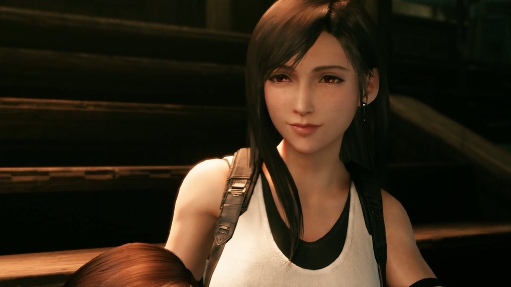 Final Fantasy VII Remake - Tifa yuz