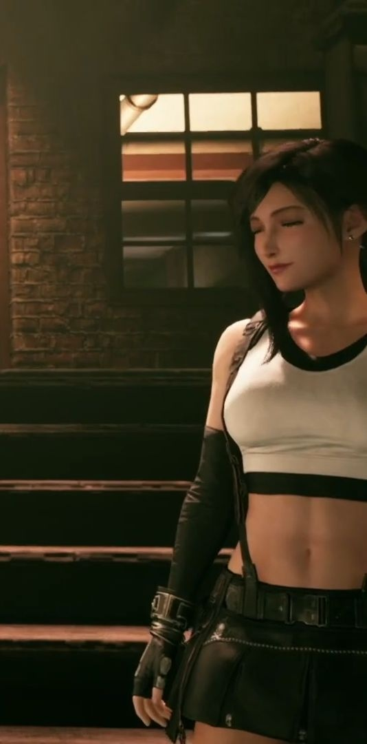 Final Fantasy VII Remake - Tifa tanasi