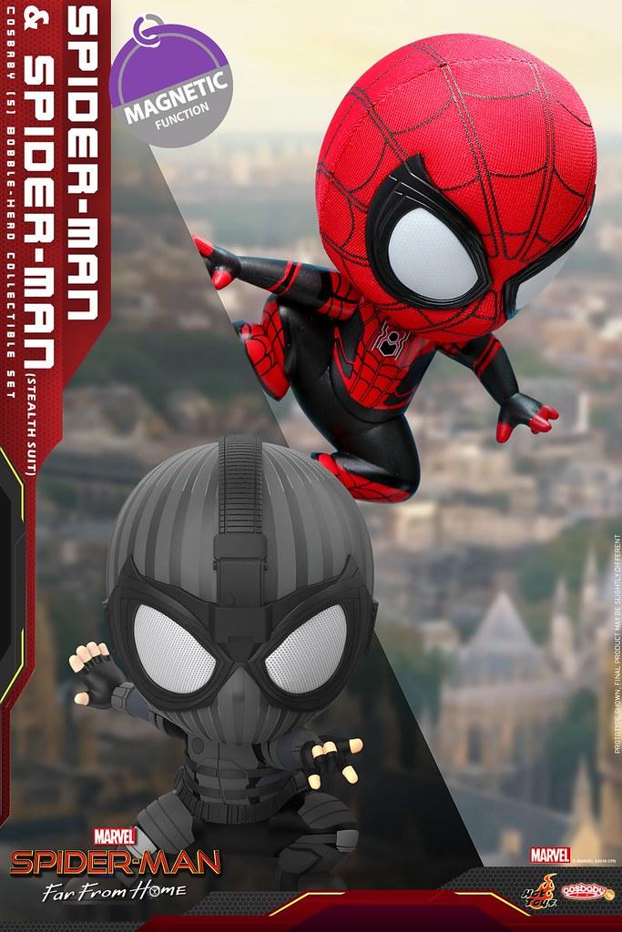 最可愛的好鄰居?! Hot Toys – COSB628 - COSB634 –《蜘蛛人:離家日》Spider-Man: Far from Home Cosbaby Bobble-Head Series