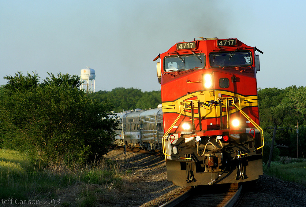 Warbonnet Leading a Business Train