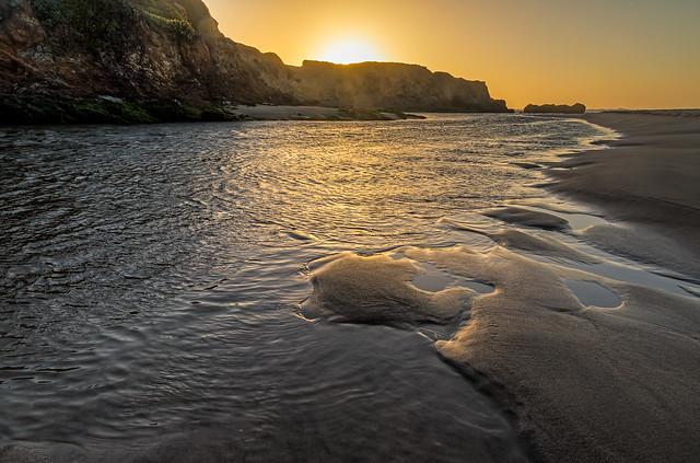 Pescadero State Beach, CA (explored)