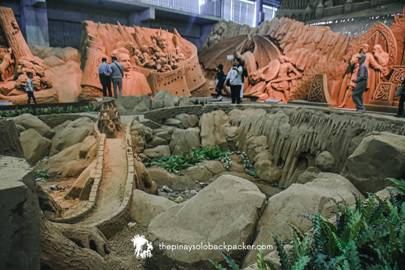 tottori sand CASTLE MUSEUM