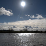 Sunshine over the Ribble at Preston