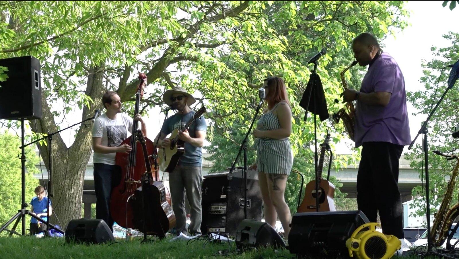 Lansing Residents Enjoyed Dam Jam Riverfront Music Festival
