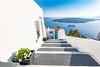 Santorini urban landscape by icemanphotos