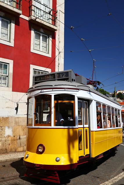 Tram - Lisbon Portugal