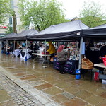 Makers Market stalls in Preston