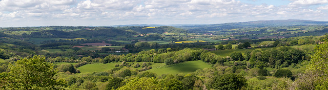 The Teme Valley. Worcestershire
