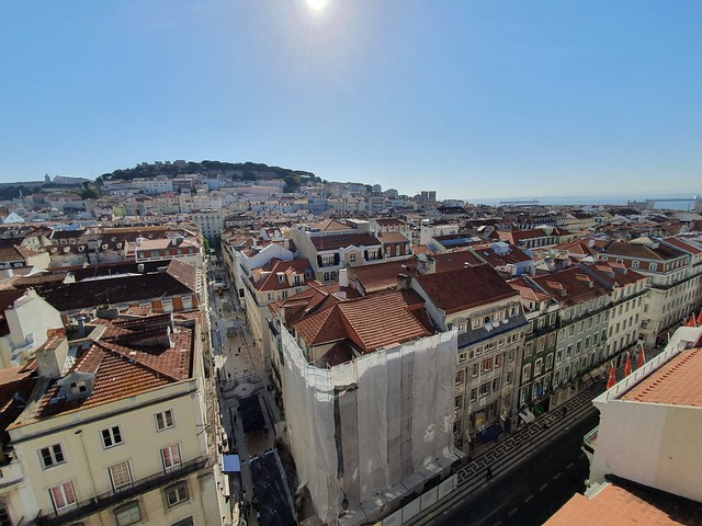 View from Santa Justa Lift - Lisbon, Portugal