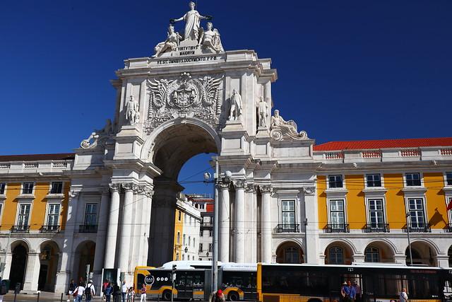 Arco da Rua Augusta - Lisbon, Portugal