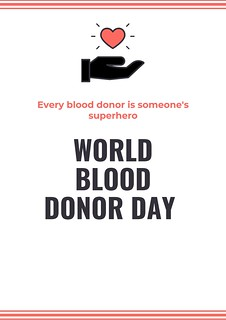 world blood donor day 2019 posters
