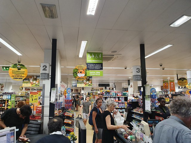 Pingo Doce supermarket - Lisbon, Portugal