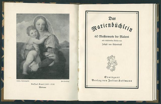Mari3 Das Marienbüchlein, Druck 1921