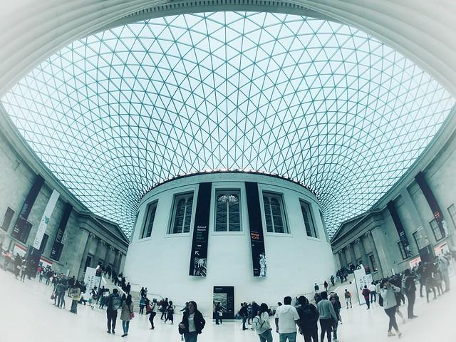 High Key Mornings: British Museum