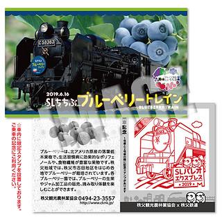 SLちちぶブルーベリートレイン☆乗車記念証