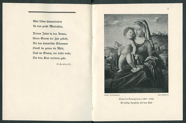 Mari5 Das Marienbüchlein, Druck 1921