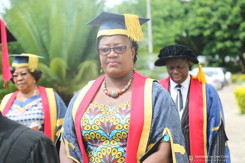 Prof. Dora F. Edu-Buandoh, Pro Vice-Chancellor, in Council Procession