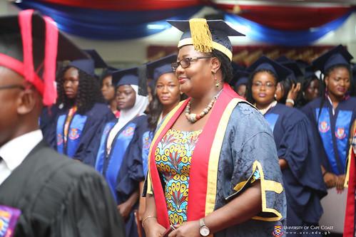 Prof. Dora F. Edu-Buandoh, Pro Vice-Chancellor at the Congregation