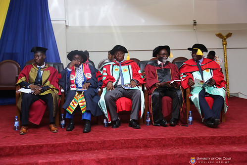 Some Provost and Deans at the Congregation