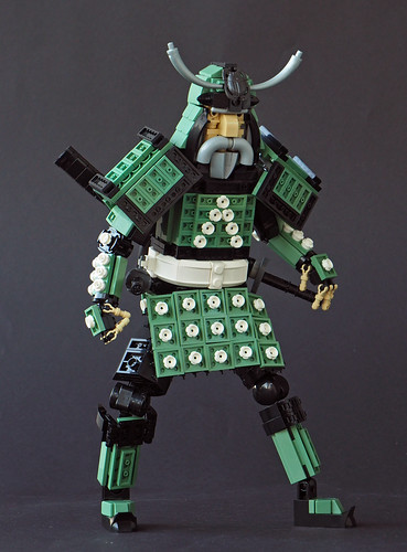 The Samurai of the Garden