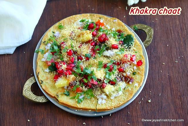 Khakra chaat