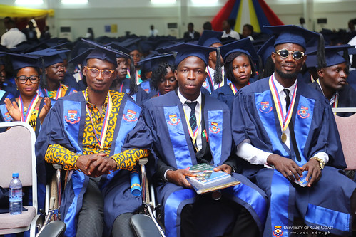 A section of the graduands