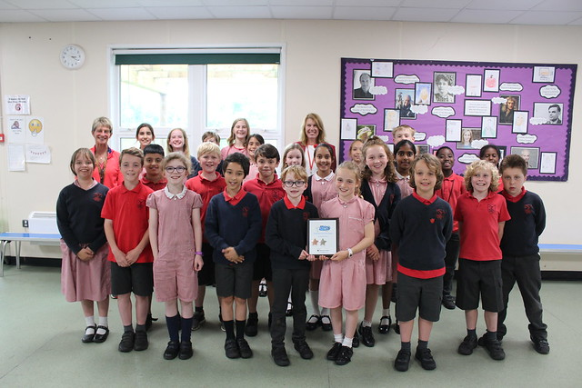 The Heights Primary School - Silver Award