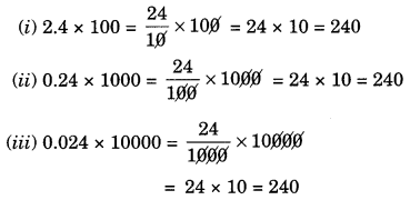 Fractions and Decimals Class 7 Extra Questions Maths Chapter 2 Q7