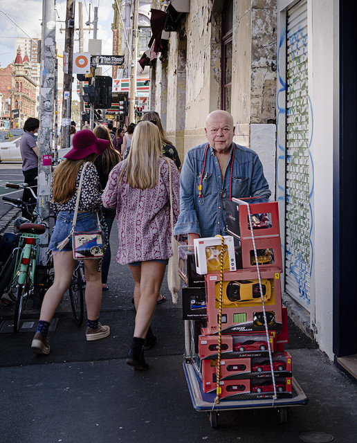 Youth and Age in Brunswick Street - September 2015