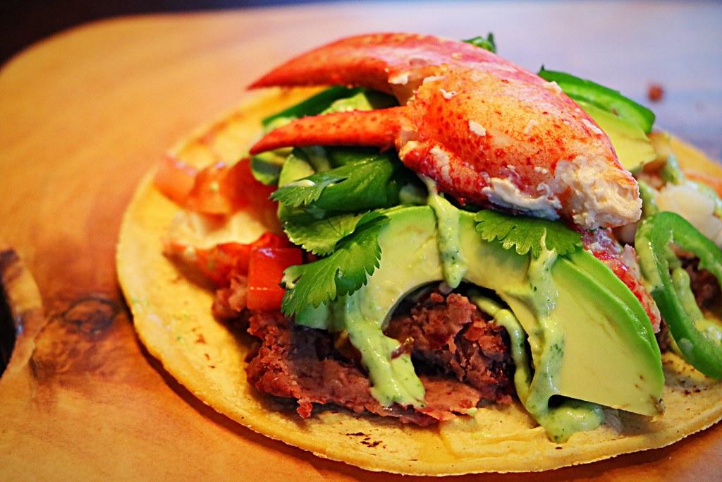 Lobster tacos!