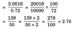 Fractions and Decimals Class 7 Extra Questions Maths Chapter 2 Q11