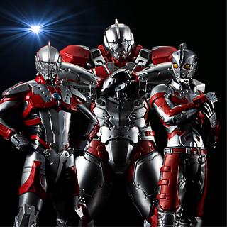 HG《超人力霸王ULTRAMAN》第二彈 「ULTRAMAN SUIT JACK / ULTRAMAN SUIT A / ULTRAMAN SUIT ZOFFY」三體共同販售!HG ULTRAMAN 【SET02】