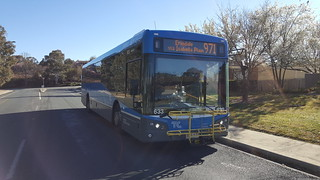 SCANIA K320UB BUSTECH ACTION/TRANSPORT CANBERRA BUS 633