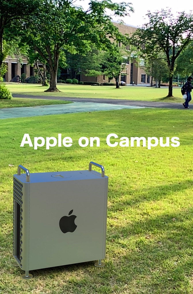 apple on campus