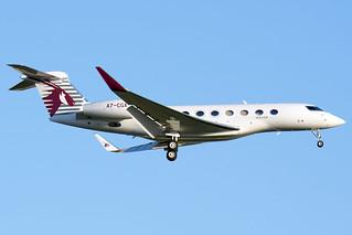 A7-CGA Qatar Executive Gulfstream G650ER (Heathrow EGLL) 08/06/2019