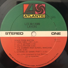LES MCCAN:LAYERS(LABEL SIDE-A)