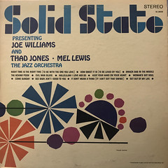 JOE WILLIAMS THAD JONES AND MEL LEWIS THE JAZZ ORCHESTRA:PRESENTING JOE WILLIAMS THAD JONES AND MEL LEWIS THE JAZZ ORCHESTRA(JACKET A)