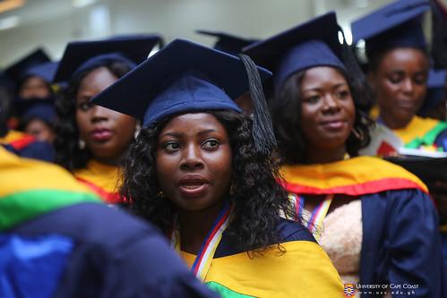 Some graduands