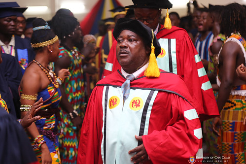 Prof. David Essumang, processing with Council