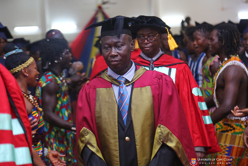 Prof. Isaac K. A. Galyuon, PROVOST - COLLEGE OF DISTANCE EDUCATION, in Council Procession