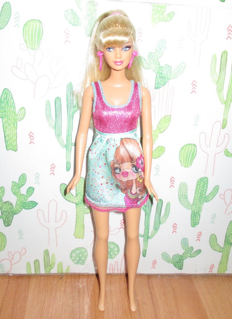 2008 Barbie Then And Now Bathing Suit Barbie