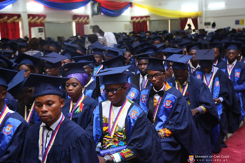 A section of graduands
