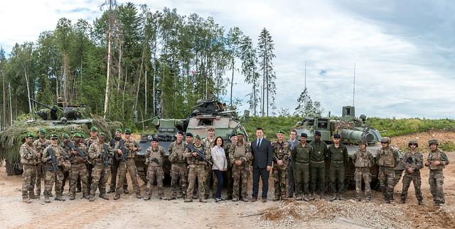 Kohtumine Prantsuse eFP sõduritega, 11.06.2019
