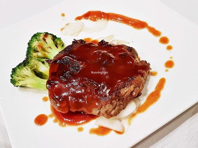 Pan-Fried Beef Tenderloin Cantonese Style