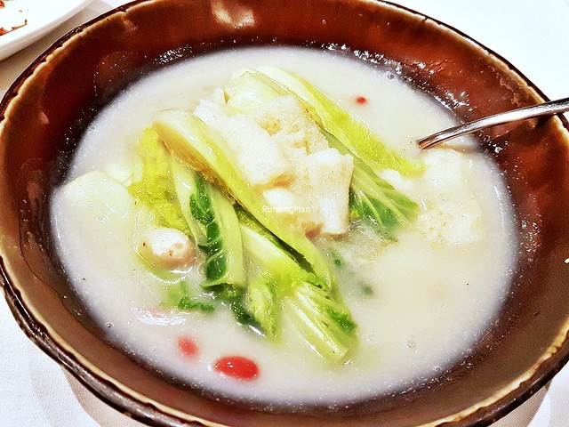 Poached Tien Chin Cabbage With Soya Bean Paste